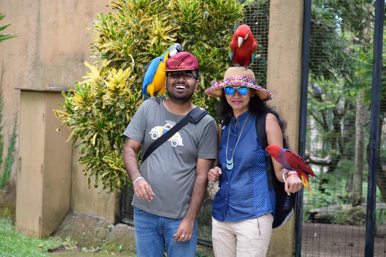 Bali Bird Park photo op