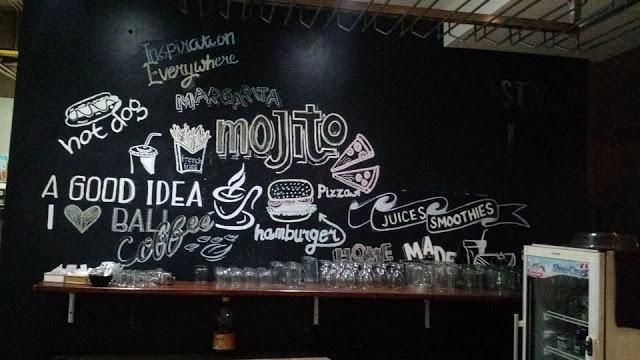 The cool kitchen graffiti
