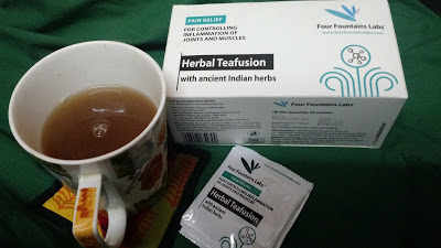 Herbal tea for joint health
