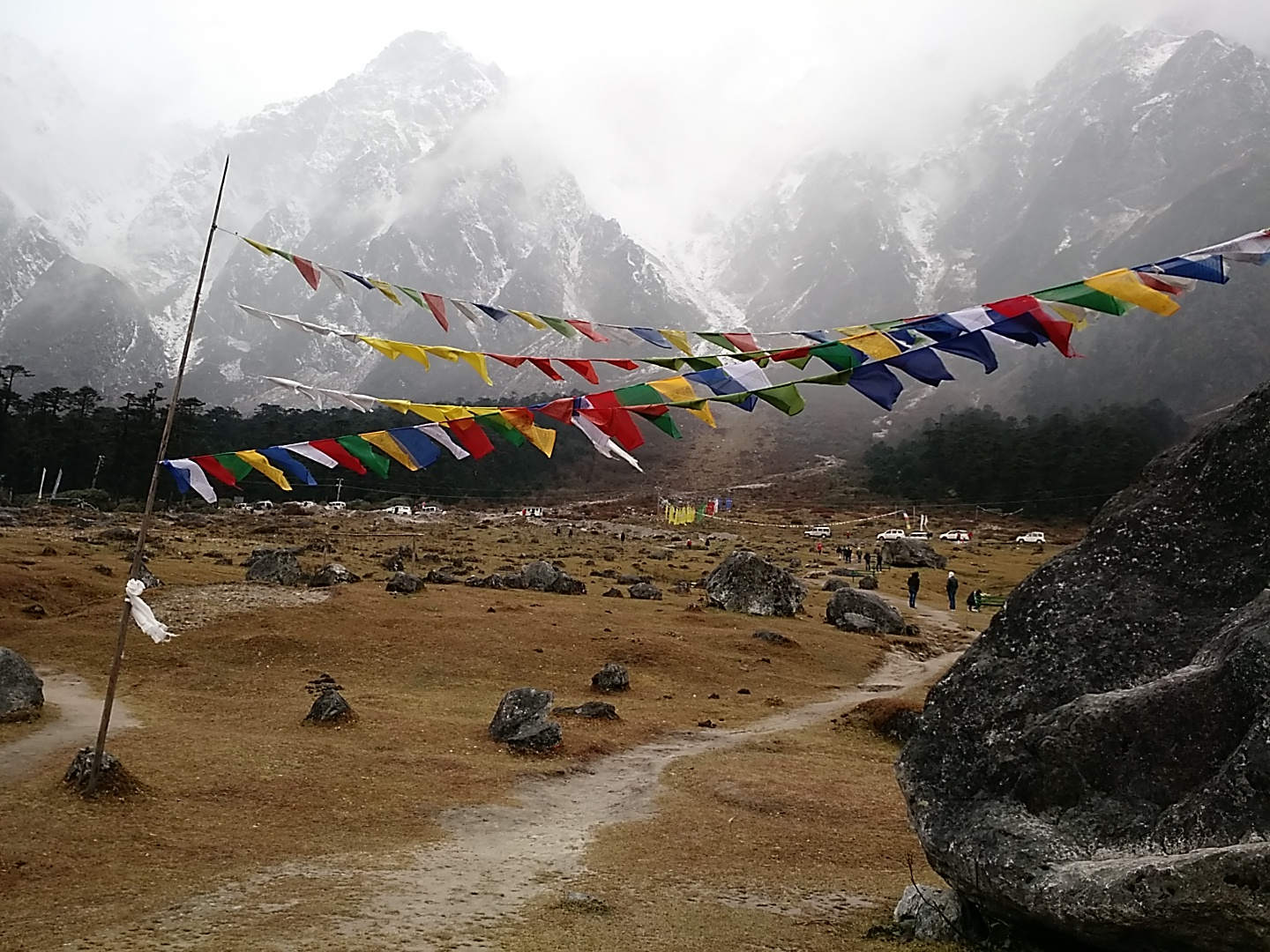 Postcard from Yumthang Valley in Sikkim
