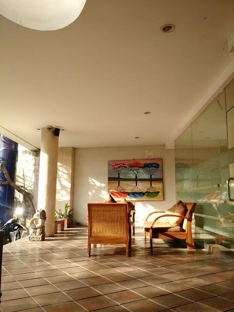 Waiting lounge in Hotel Suris Boutique