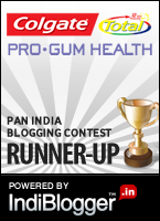 Colgate blog contest runner up