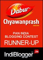 Dabur blog contest runner up
