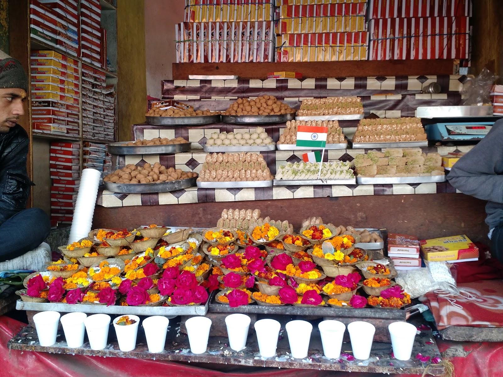 Sweet shop opposite Govardhan Temple