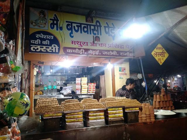 Brijwasi small sweet shop
