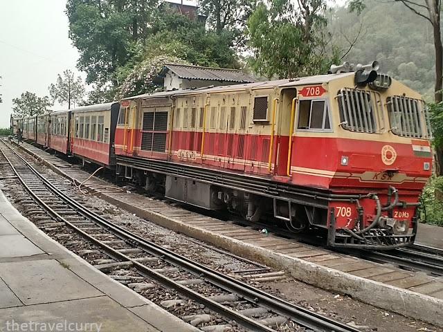 The Kalka-Shimla toy train