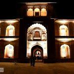 Dazzling Safdarjung Tomb in evening