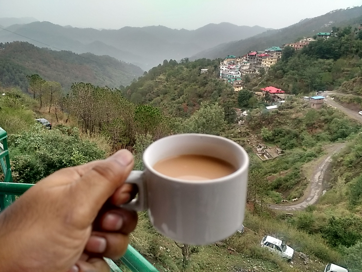 A toast to Kasauli's awesome morning