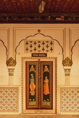 Junagarh Fort- Wall Paintings