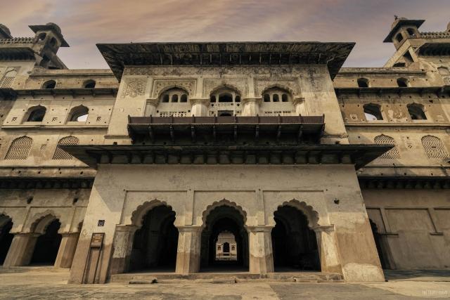 Raja Mahal in Orchha Fort