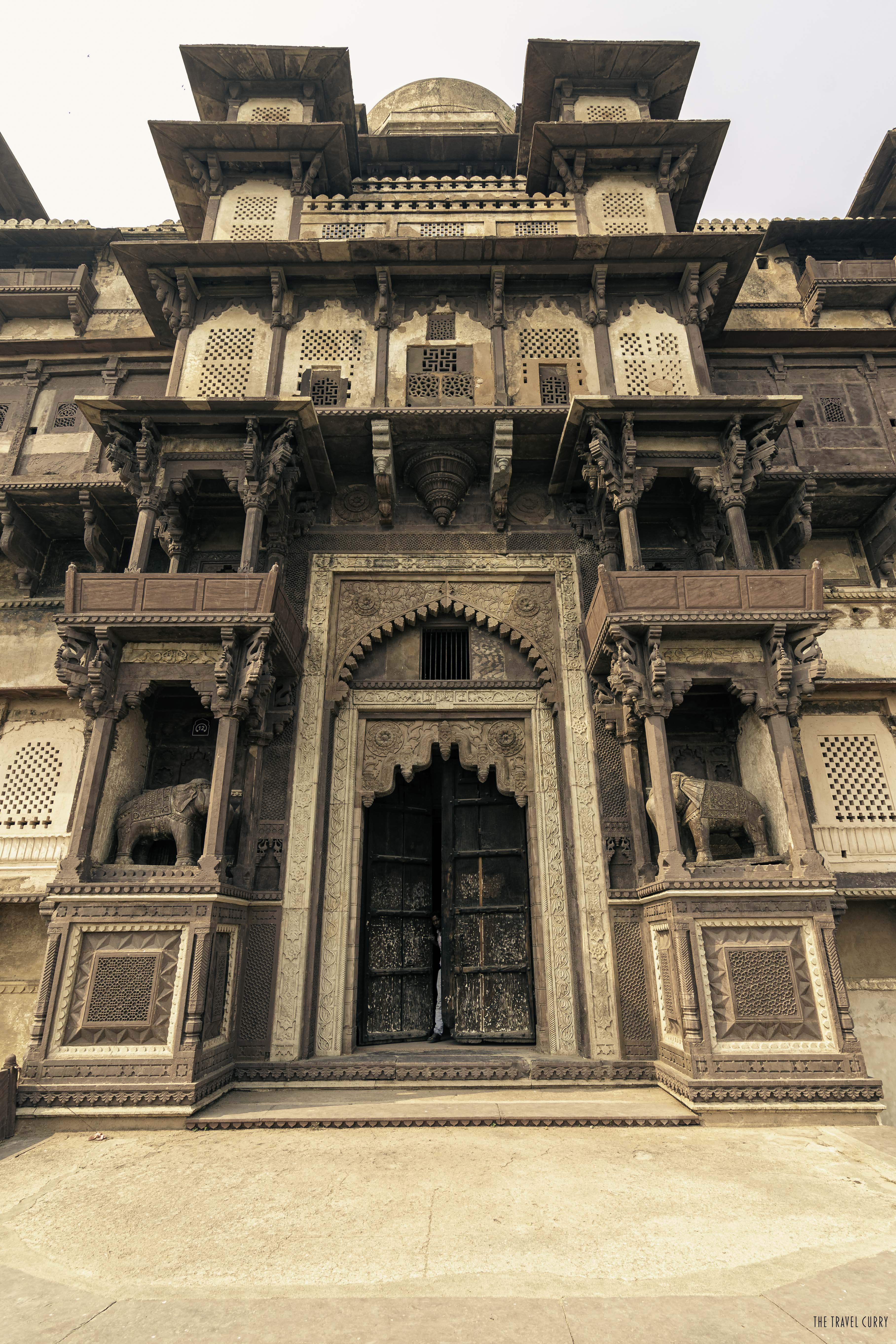 Rai Praveen Mahal inside Orchha Fort