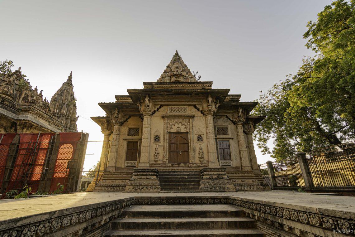 A structure at Scindia Ki chhatri