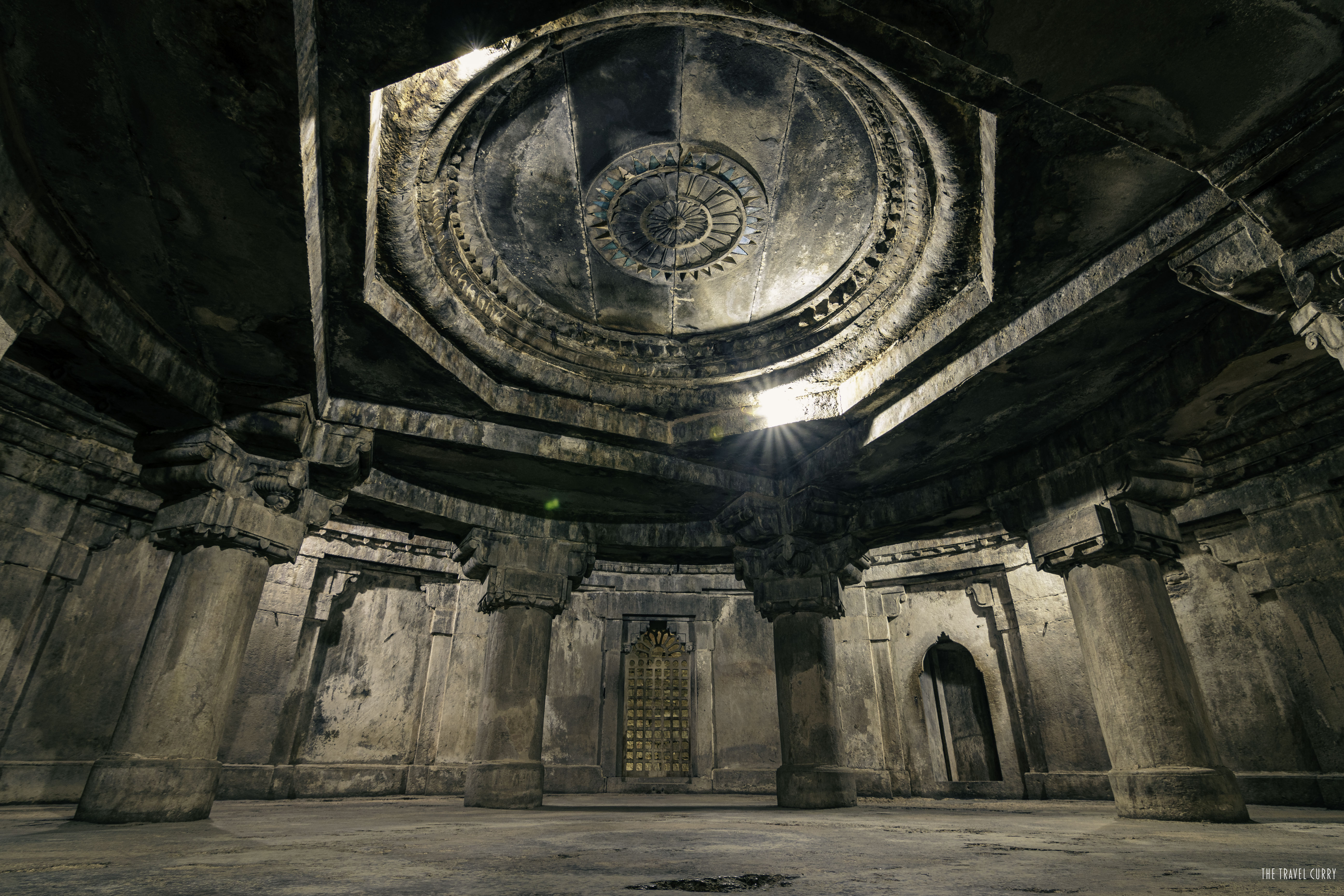 Mysterious chambers in Man Singh Palace