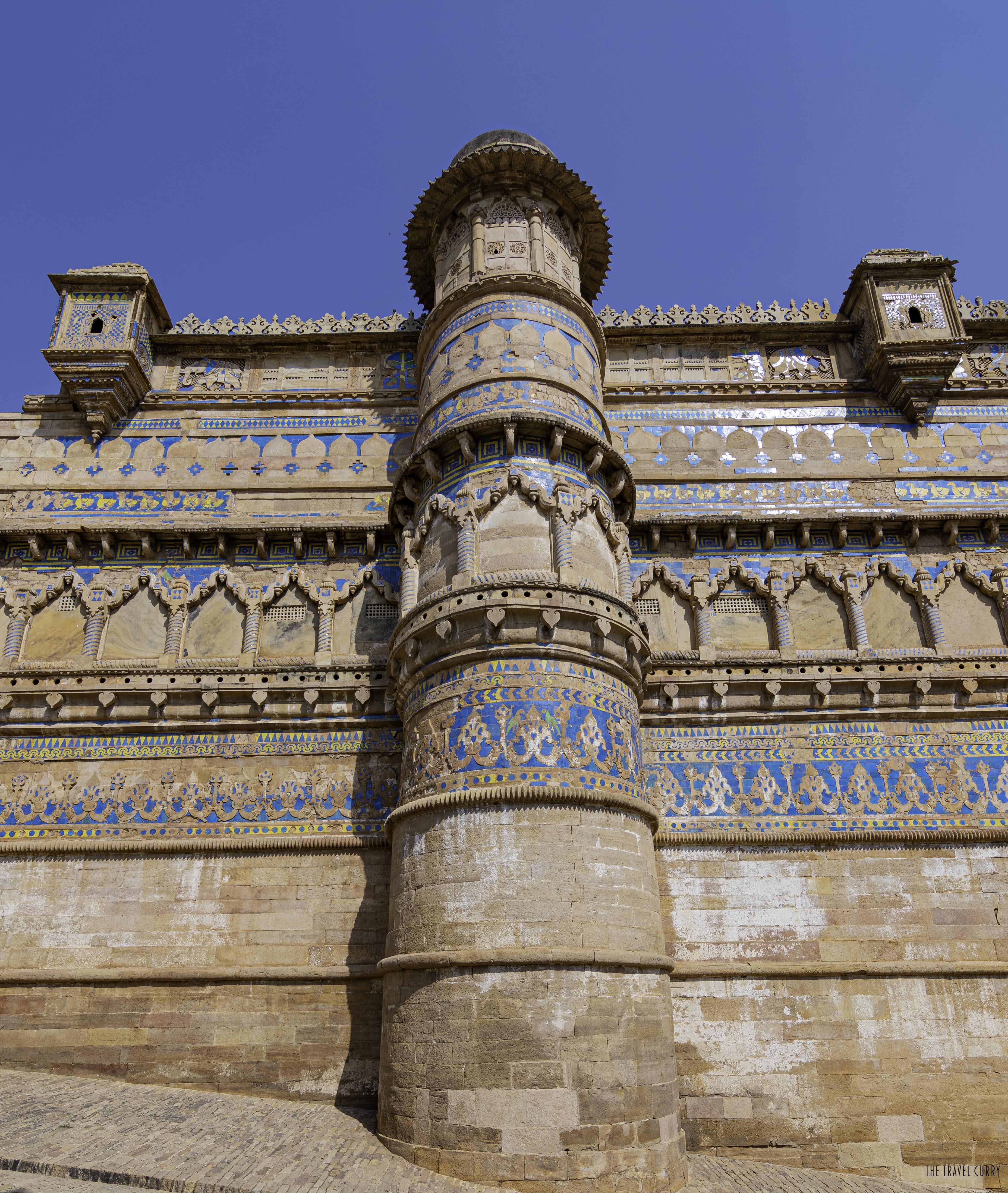 Pillar- Man Singh Palace
