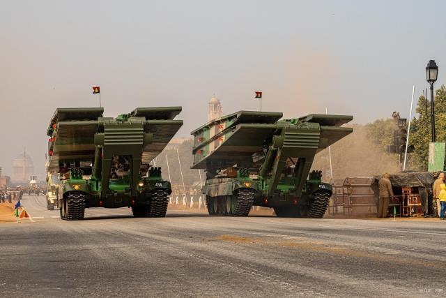 Bridge Laying tanks T-72