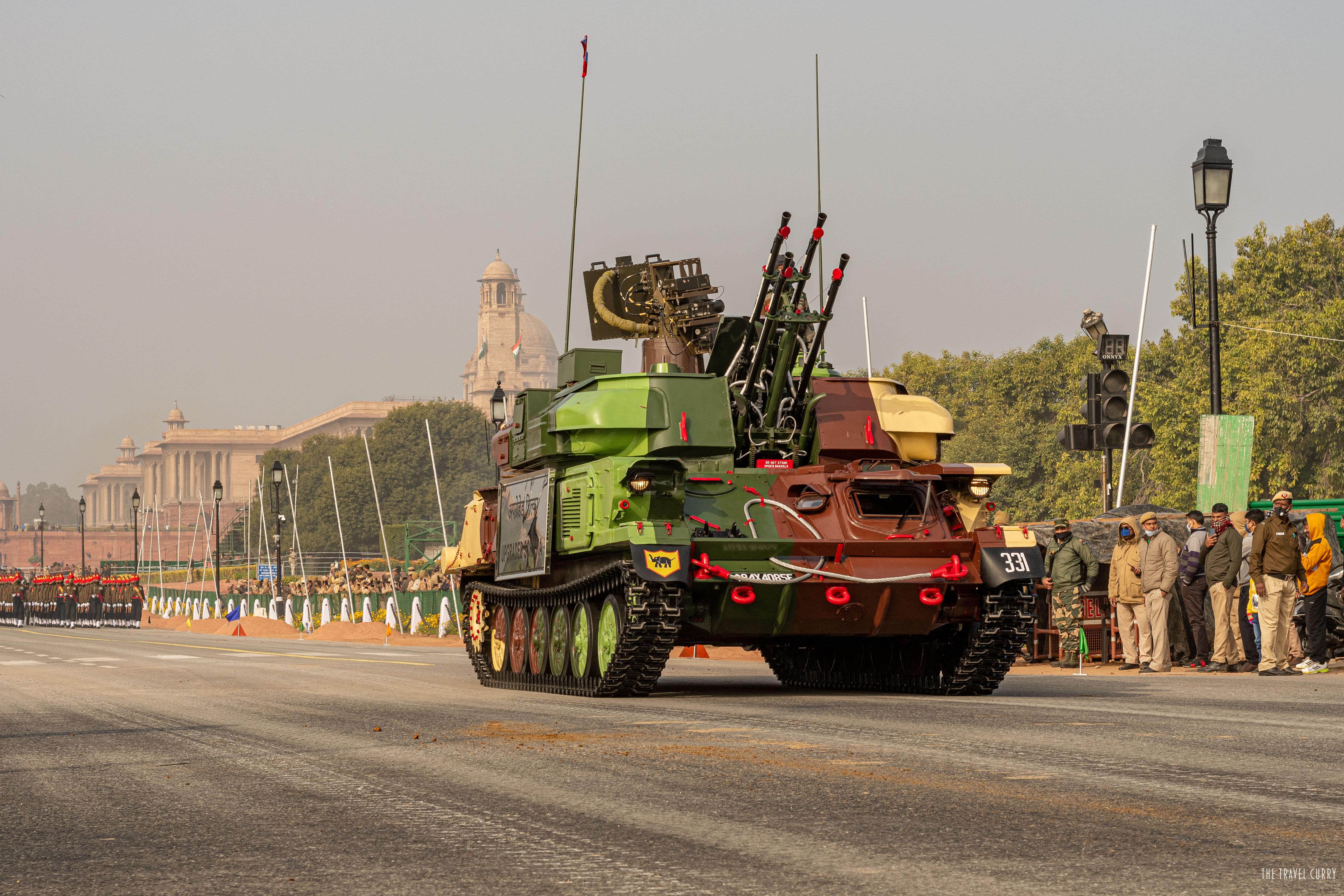 Upgraded Shilka- Anti Aircraft Gun