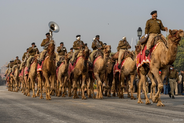 BSF Band on Camels