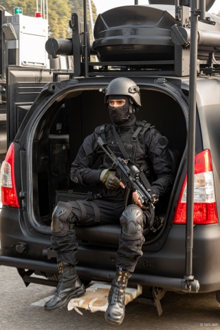 NSG Commando- Always Ready for Action