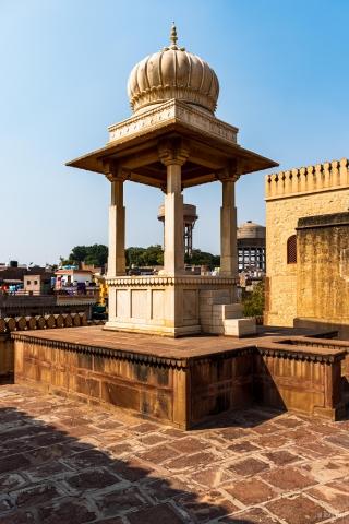 The cenotaph of Bikaji