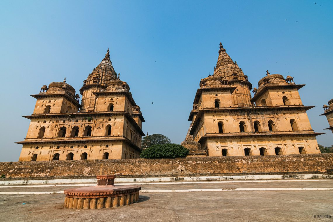 Cenotaphs in Orchha