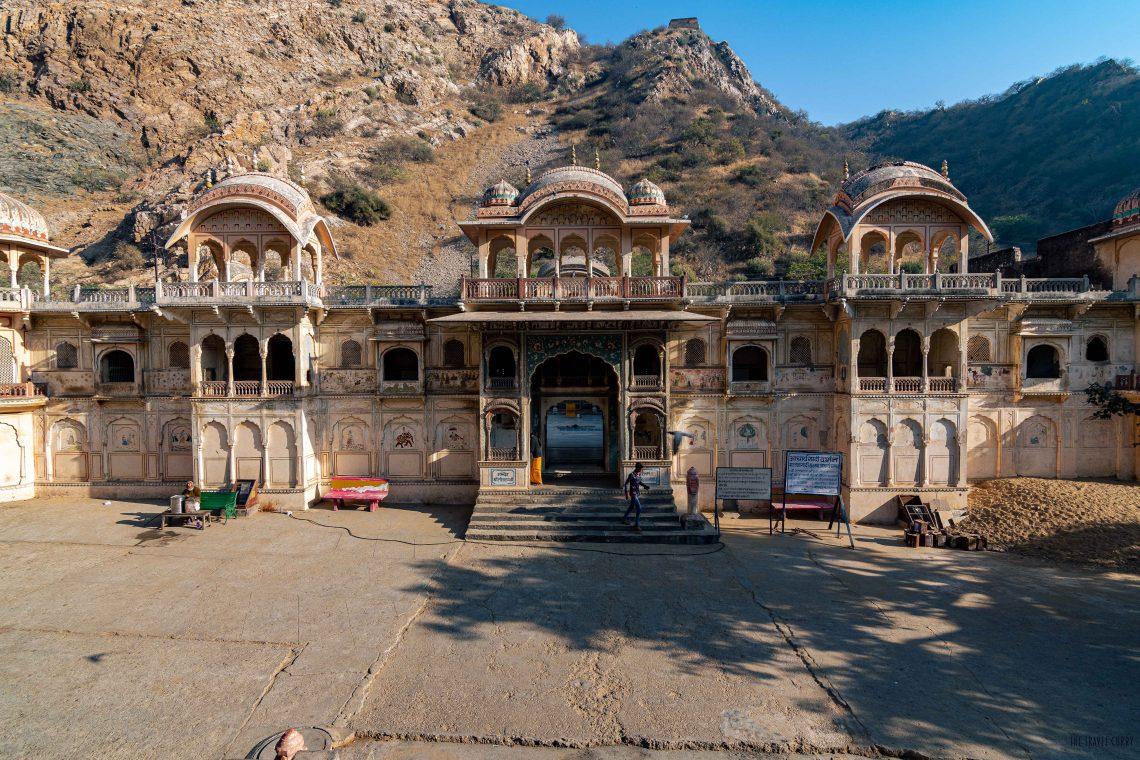 Temples adjacent to Galtaji shrine