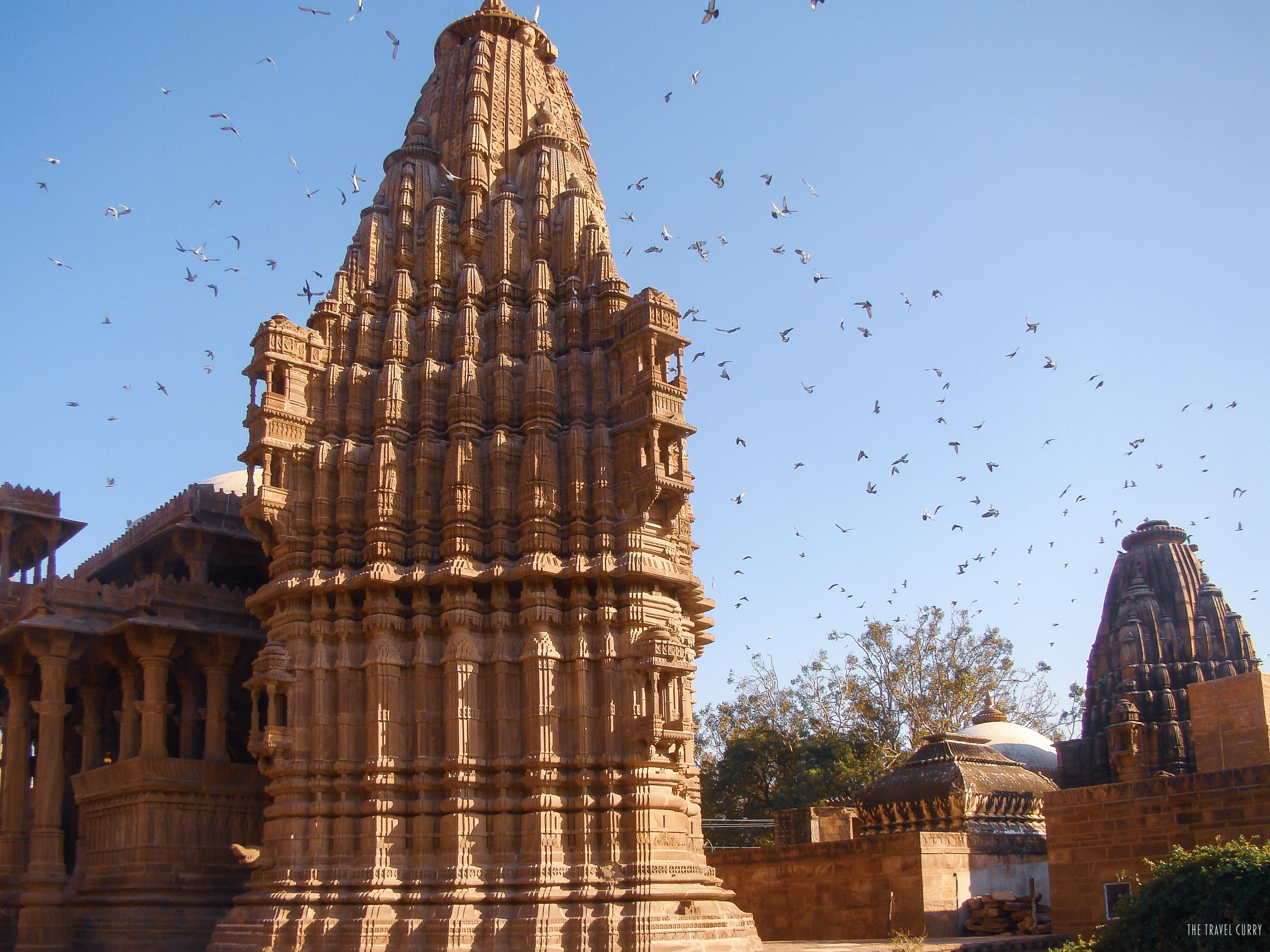 The smaller chhatri
