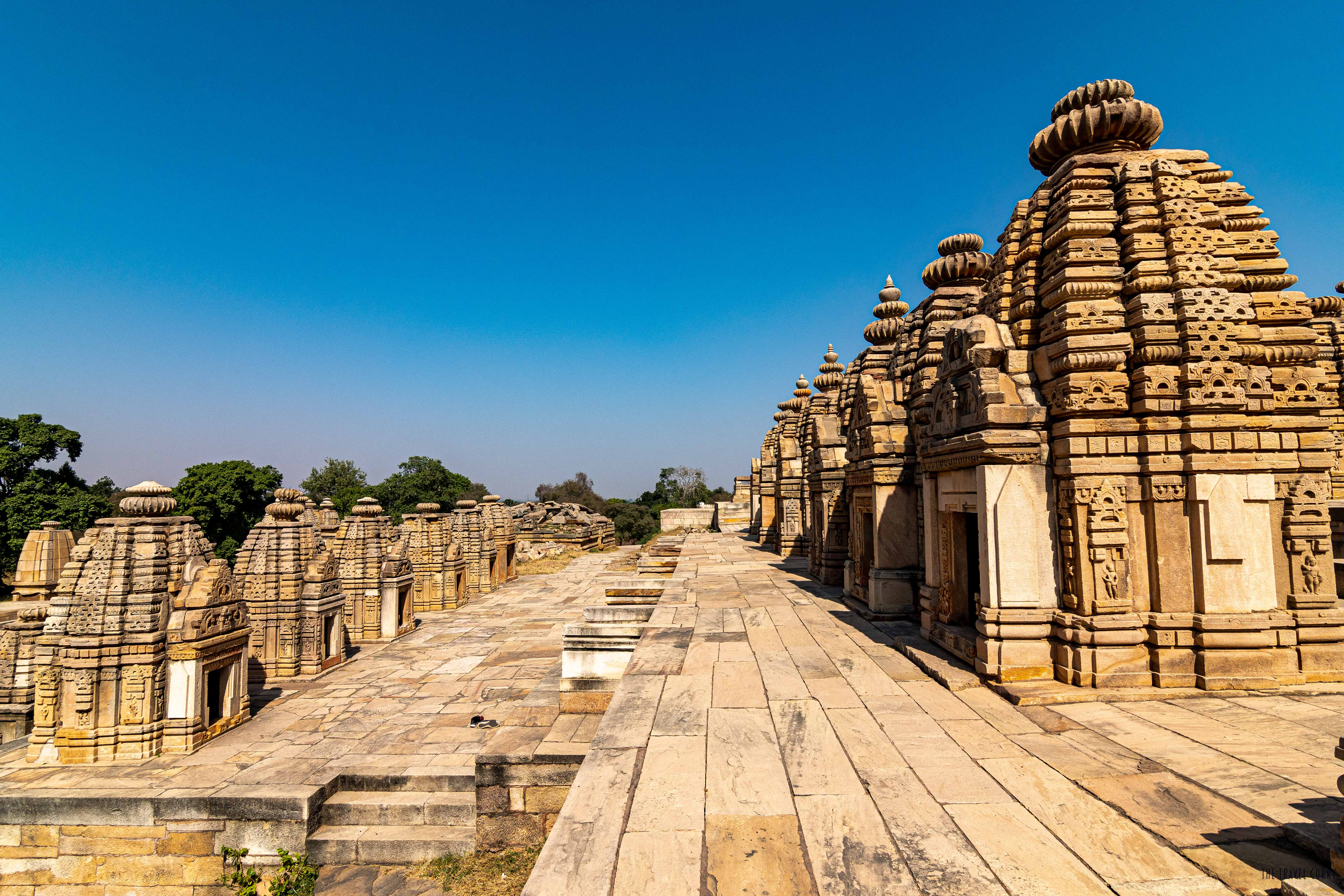 The reconstructed Bateshwar temples
