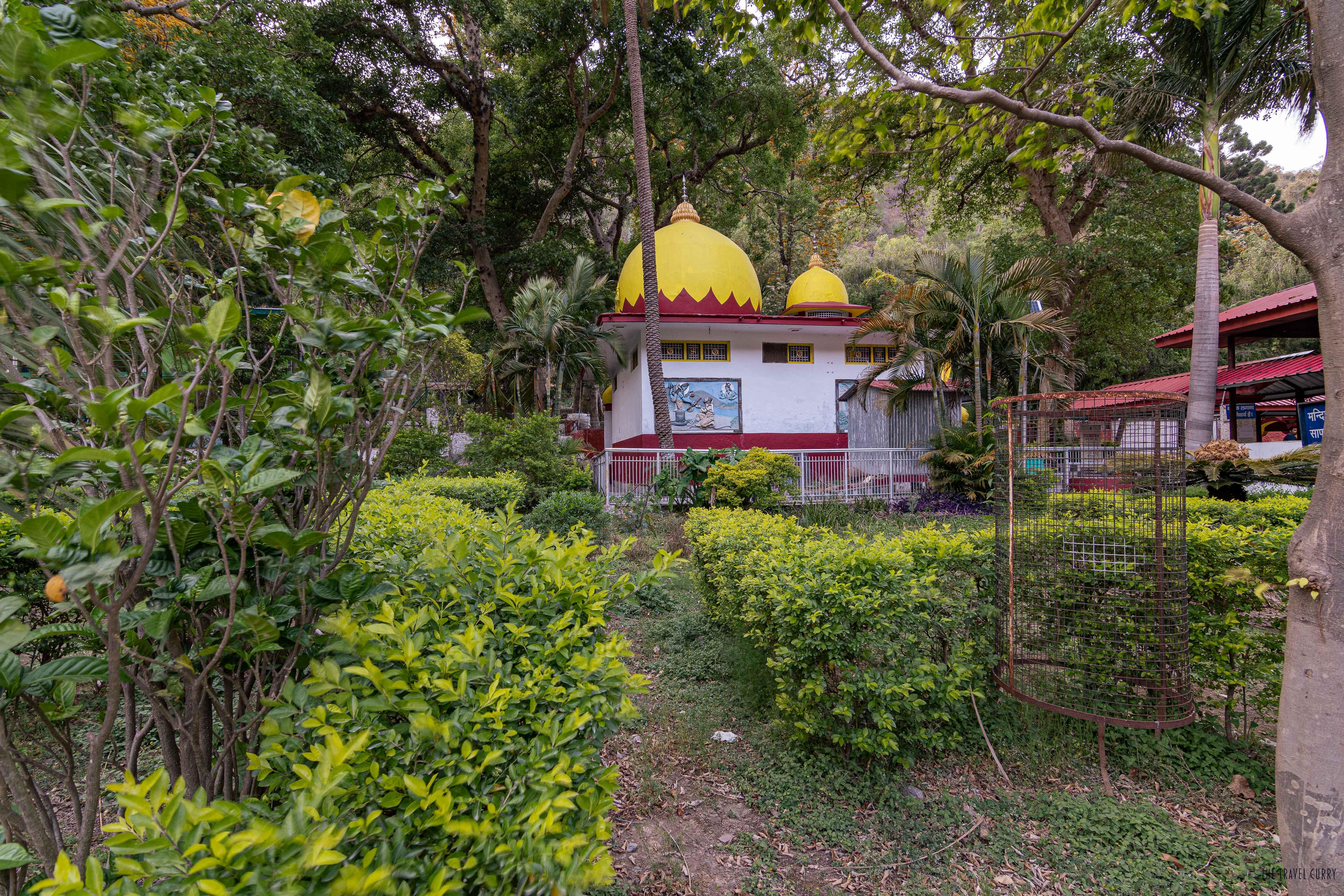 Renukaji Temple from outside