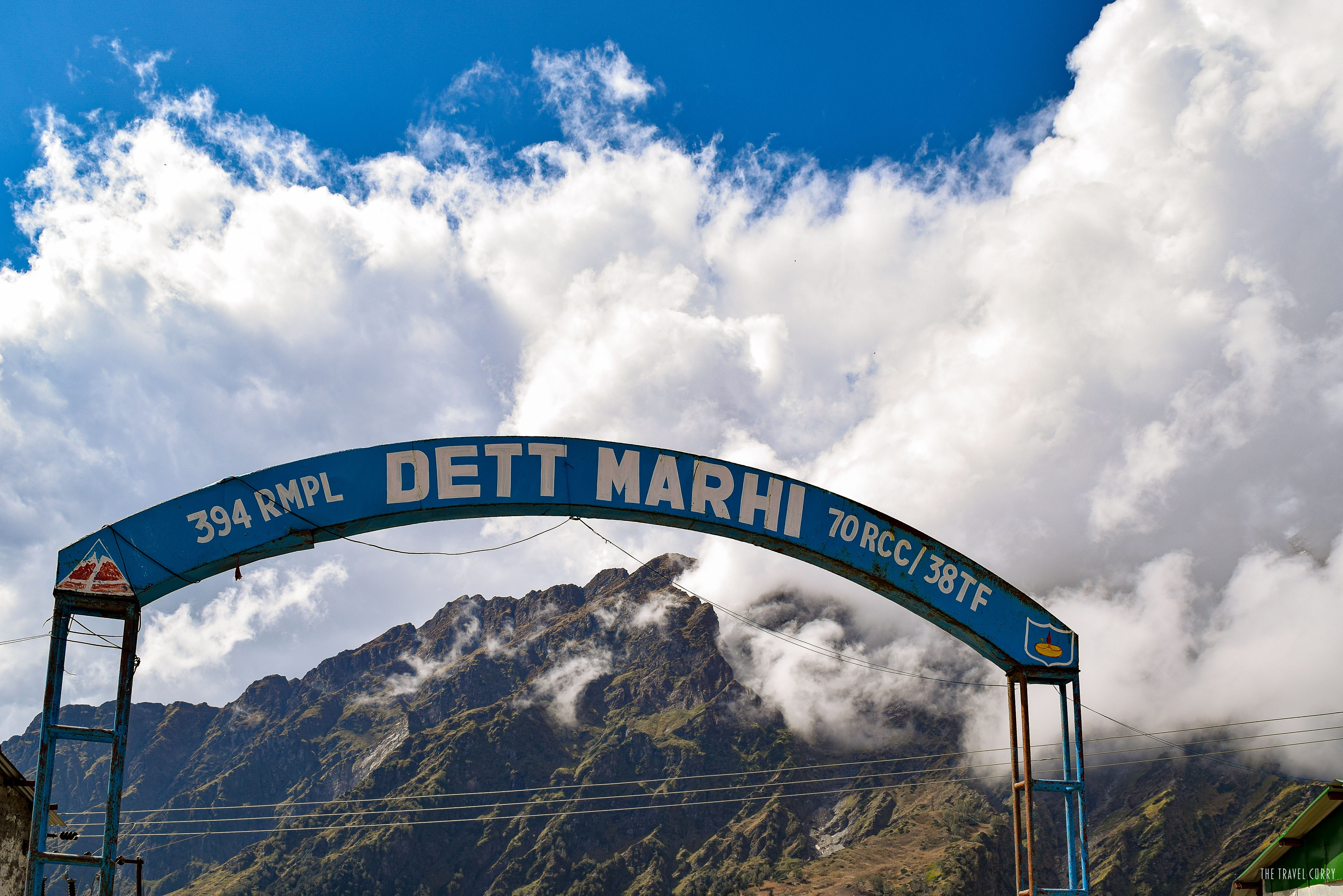 The last village before Rohtang